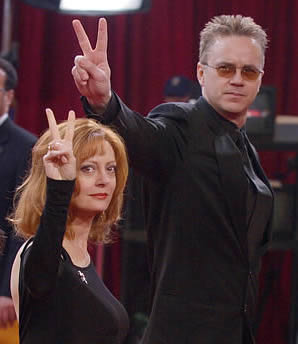 tim robbins susan sarandon Susan Sarandon: Dumb Woman Talking